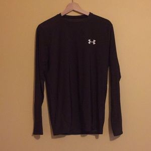Brown Under Armour Long Sleeve